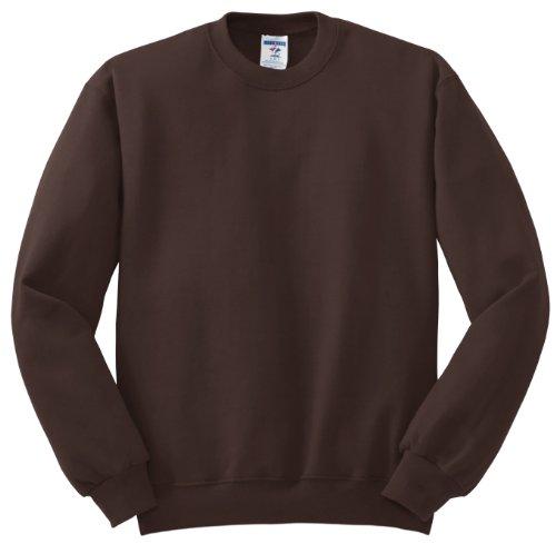 Hockey Symbol auf American Apparel Fine Jersey Shirt Schokoladenbraun