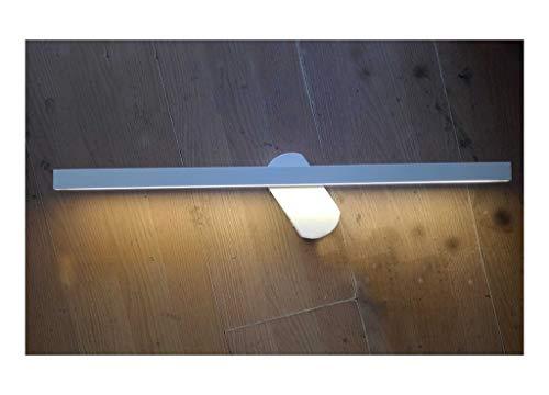 Preisvergleich Produktbild HARDY-YI Schwarzweiß-Spiegel Scheinwerfer Spiegel Kabinett Spiegel Badezimmer Badezimmerspiegel Licht Große Spiegel Scheinwerfer (Farbe : Weiß)