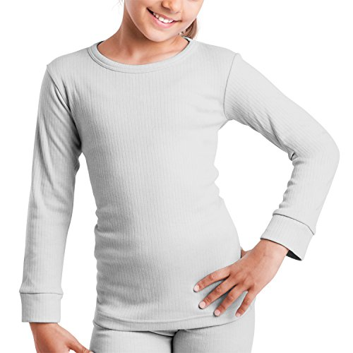 MT® Kinder Thermo Langarmhemd Sports Grey-146 / 152