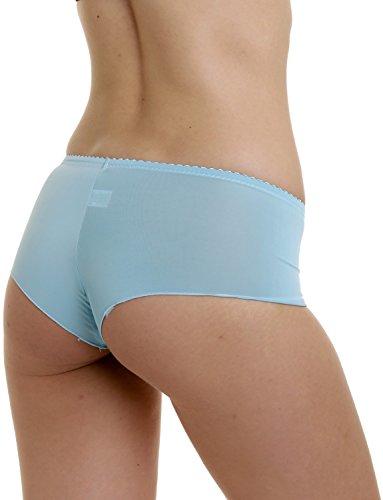 Damen Slips 6er Pack Farbmix Mehrfarbig