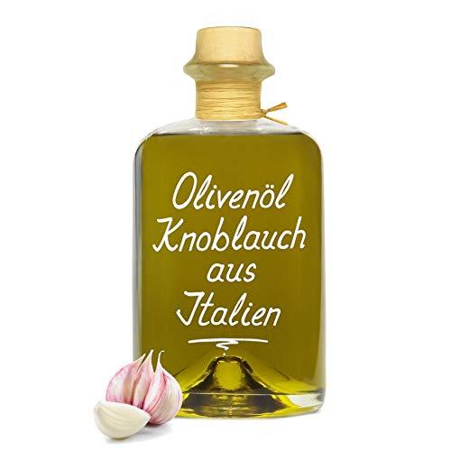 Olivenöl Knoblauch aus Italien 0,5L kaltgepresst extra vergine -