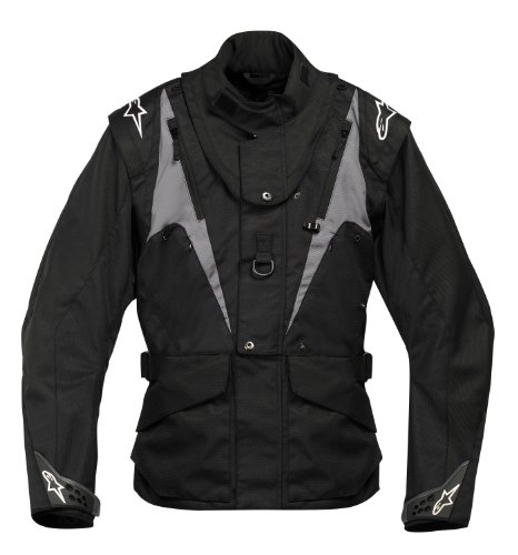 Alpinestars 2012venture-giacca Enduro (BNS compatibile), Black, S