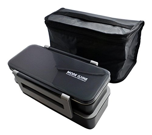MODE LINE 2-stage large plastic lunch box back with KCPJW13 (japan import)