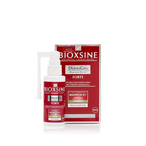 Bioxsine Pflanzliches Forte Serum-Spray bei starkem Haarausfall - für Frau und Mann | mit pflanzlichem Haarwaschmittel das Haarwuchs...
