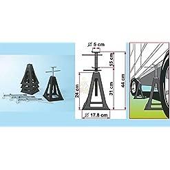 Fiamma 00680C01G Plastic Jacks Martinetti