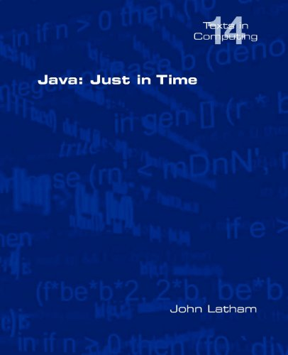 Java: Just in Time