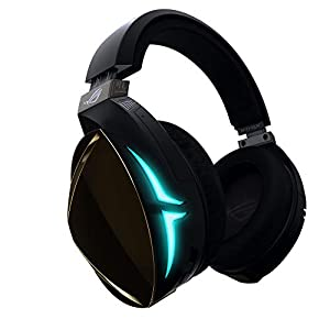 ASUS ROG Strix Fusion 500 gaming headset with hi-fi-grade ESS DAC and amplifier and 7.1 virtual surround - Black