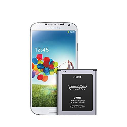 EMNT Akku für Samsung Galaxy S4 2600mAh akku s4 Lithium-Ionen-Akku Entspricht dem Origina