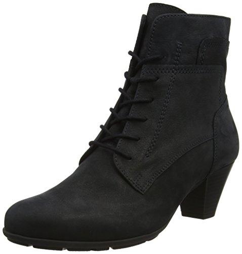Gabor Shoes Damen Basic Stiefel, Blau (16 Ocean), 41 EU (Leder Damen Bootie)
