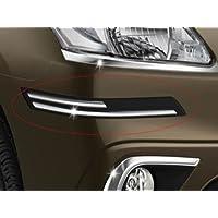 Delhi Traderss WV01RCA08044 Rubber with Chrome Car Bumper Protector Guard Molding - Maruti Suzuki Alto K10 New