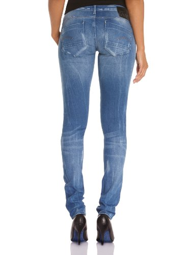 G-star Damen Jeans  Skinny Blau (Medium Aged)