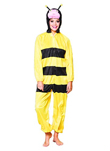 Boland 88443adultos Disfraz miel abeja de peluche, One size