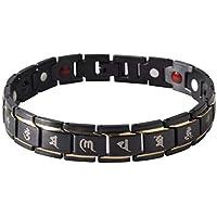 SL0069 Männer Titan Stahl Gesundheit Energie Armband Einfache Religiöse Worte Gedruckt Elastische Armband Armreif... preisvergleich bei billige-tabletten.eu