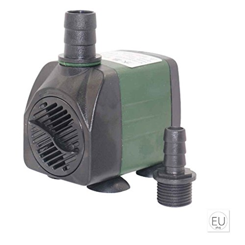 Masterein Kurz Wasserpumpe Aquarium Pond Stiftung Wasserzirkulation Injection Quiet Park Submersible Low Noise EU Plug(220-240V) (Low-stiftung)