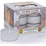 Yankee Candle 1342548E Winter Glow Teelichte Kerzen, 118 g