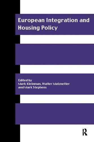 European Integration and Housing Policy (Routledge/Rics Issues in Real Estate and Housing Series)
