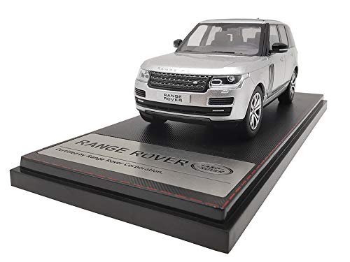 LCD Models LCD43001SL - Land Rover Range Rover SV Autobiography Dynamic 2017 Silver - maßstab 1/43 - Sammlungsmodell - diecast Lcd-land Rover