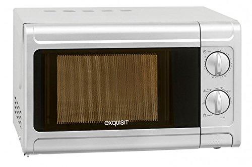 Preisvergleich Produktbild 700 Watt Mikrowelle Elektro Küchen Gerät 20 Liter Fassungsvermögen GGV MW720_silber