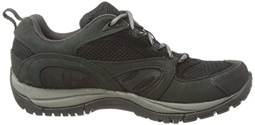 Merdg Azura Gtx, Chaussures de Randonnée Basses femme Noir (black/carbon)