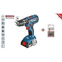 Bosch Professional Akülü Darbeli Delme/Vidalama Makinesi Gsb 18/2/Li Plus (2X 2Ah Akü, 18V, Ahşap/Çelik Için Delme Çapı: 38/13 Mm, Çanta Içinde)