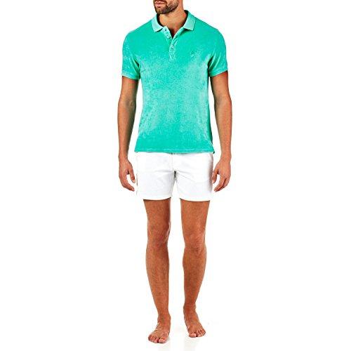 Vilebrequin - Solid-Polohemd aus Frottee - Herren Grün