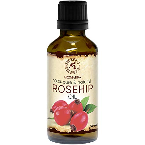 Aceite de Rosa Mosqueta 50ml - Rosa Canina Fruit Oil - Chile - 100% Puro y Natural