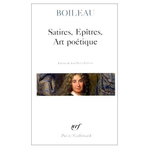 Satires - Épîtres - Art poétique