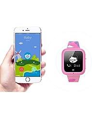 Misafes enfants intelligent horloge Sport Tracker GPS Monitor num¨¦rique Baby Monitor (carte SIM non inclus)