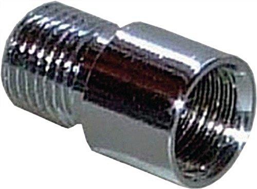 Verlängerung zu Türspion Messing blank Bohrung D.14mm Länge 10mm