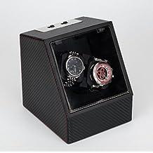 GY&H Guarda gli orologi automatici Orologi Guarda Storage Case Case Box, regalo Scatole di gioielli con piano in vetro,D