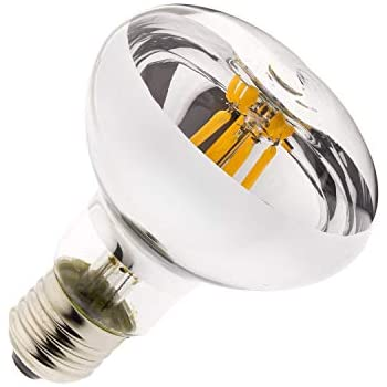 Bombilla LED E27 Regulable Filamento R80 6W efectoLED