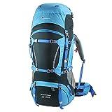 MOUNTAINTOP 65L+10L Trekking rucksack,36 x 23 x 78 cm