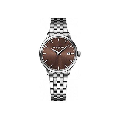 raymond-weil-femme-bracelet-boitier-acier-inoxydable-quartz-cadran-marron-montre-5988-st-70001