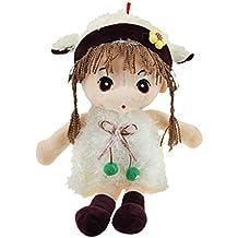"BXT bebé regalo juguete niña niño muñecas de gamuza muñeca princesa muñeca de peluche Mini muñeca peluches Doudous mignonne ""Toys juguete de actividades, juguete de Premier Pas para bebé niño"