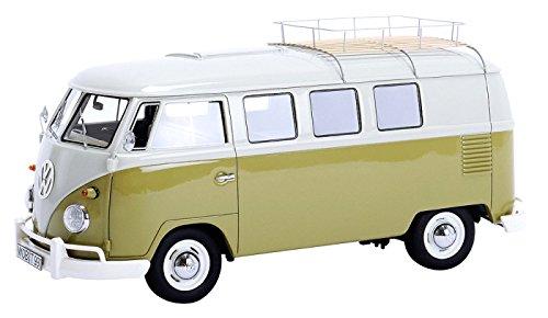 Preisvergleich Produktbild Dickie-Schuco 450894000 - Volkswagen T1 Westfalia Camper mit Dachträger, 1:32
