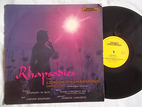 MER 320 Rhapsodies London Philharmonic Joseph Primavera LP 320 Stereo