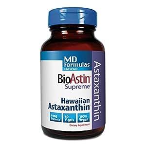 MD Formules Hawaii, BioAstin suprême, 6 mg, 60 V-Gels - Nutrex Hawaii