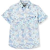 Hurley B Spray Gun S/S Camisa, Niños, Half Blue, L