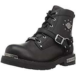 Harley-Davidson Women's Becky Motorcycle Boot - 41ABI120u4L - Harley-Davidson Women's Becky Motorcycle Boot