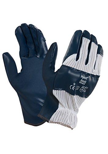 ansell-hynit-32-815-guanto-oleorepellente-protezione-meccanica-blu-taglia-9-sacchetto-di-12-paia