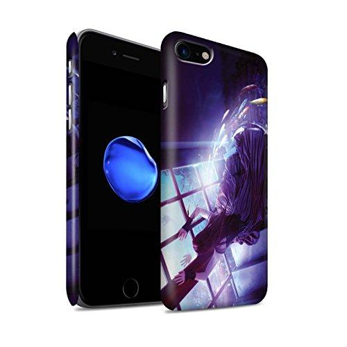 Officiel Elena Dudina Coque / Clipser Matte Etui pour Apple iPhone 8 / Sous-Marin Design / Agua de Vida Collection Laisse Moi Entrer