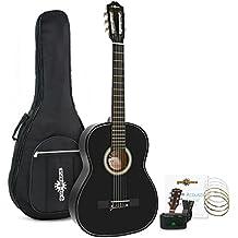 Pack de Guitarra Española de Gear4music Negro