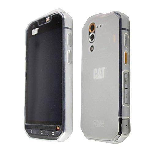 caseroxx TPU-Hülle für CAT S60, Tasche (TPU-Hülle in transparent)