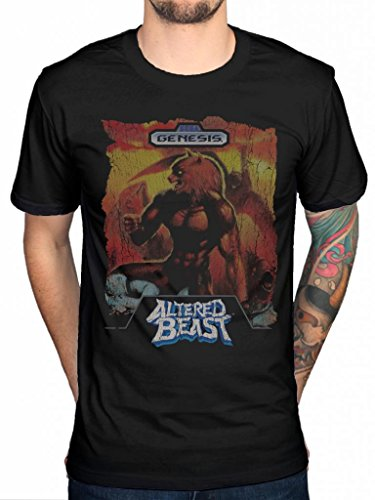 Official Sega Altered Beast T-Shirt Controller Mega Drive Console Video Gam