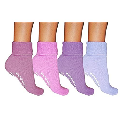 Slipper Socks With Grippers Amazon Co Uk