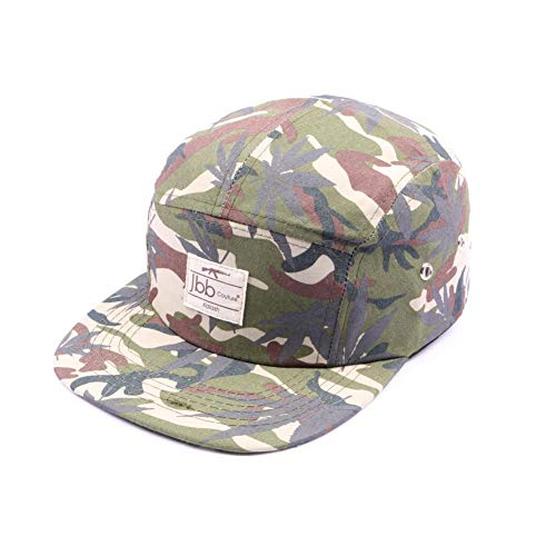 JBB COUTURE Casquette 5 Panel Camouflage - Mixte