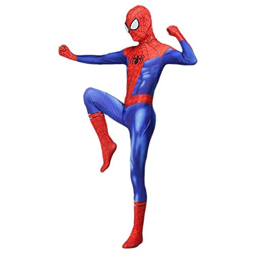 YIWANGO Rächer Kostüm Spiderman New Age Peter Park Cosplay Siamese All Inclusive Strumpfhosen Spielen Kostüm Halloween Maskerade Superheld Kostüm,Spiderman-S