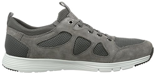 Geox U Snapish B, Sneakers Basses Homme Gris (Anthracite/Greyc9380)