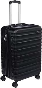 """AmazonBasics Hardside Suitcase with Wheels, 24""""(61 cm), Black"""