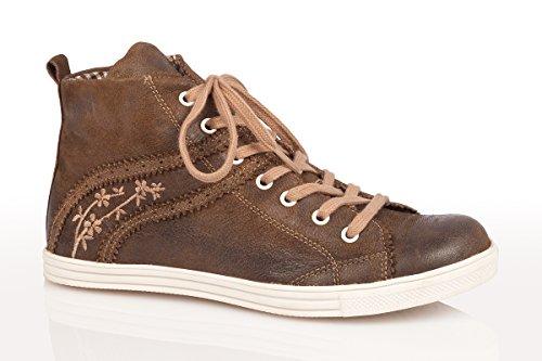 Trachten Sneaker - WALTRUN - denimblau, rustik Rustik
